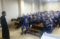 Беседа с курсантами МГУ
