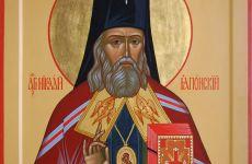 Мощи  св.Николая, архиепископа Японского выставлены для поклонения