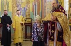 День рождения старейшей прихожанки нашего храма