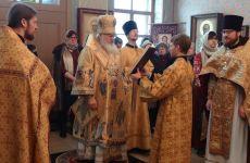 21 февраля нас посетил владыка Вениамин.