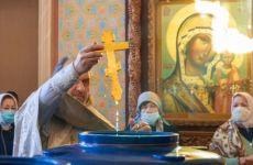 Репортаж о празднике Крещения Господня