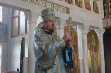В день престольного праздника митрополит Владимир совершил литургию в нашем храме