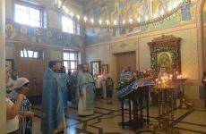 Молитвенно отметили престольный праздник