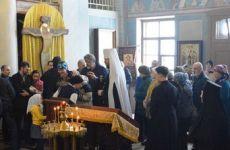 Митрополит Владимир возглавил Божественную литургию