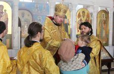 В день памяти святителя Николая Японского митрополит Владимир совершил Божественную литургию в нашем храме