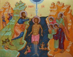 19 января 8:00 КРЕЩЕНИЕ ГОСПОДНЕ. Божественная литургия. Великое освящение воды