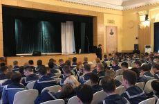 О. Роман встретился с курсантами Морского университета